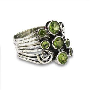 anillo-peridoto-plata-verde