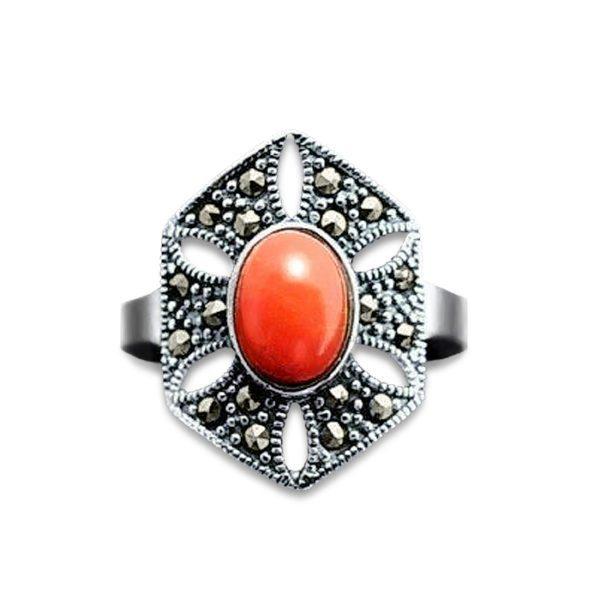 anillo-coral-plata-rojo-marquesitas