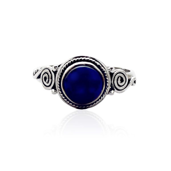 anillo-lapislázuli-azul-plata