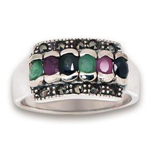 anillo-marquesitas-esmeraldas-zafiros-plata