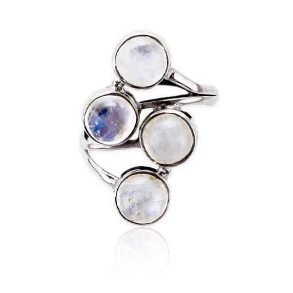 anillo-piedras-luna-plata