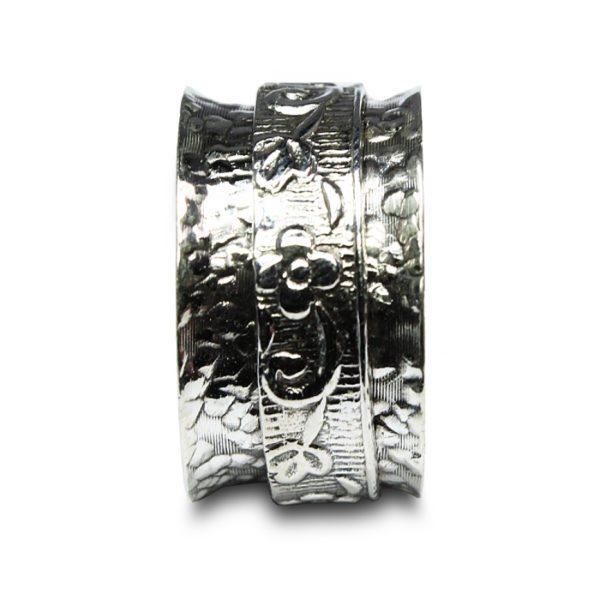 anillo-plata-movible-superpuesto-grabado