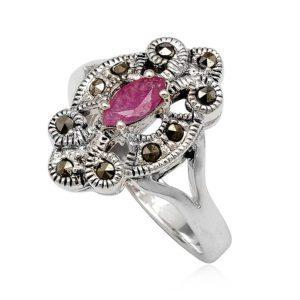 anillo-plata-rubi-rosa