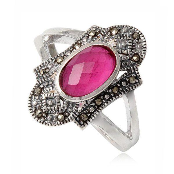 anillo-rosa-rubi-marquesitas-plata