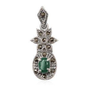 colgante-esmeralda-verde-plata-marquesitas