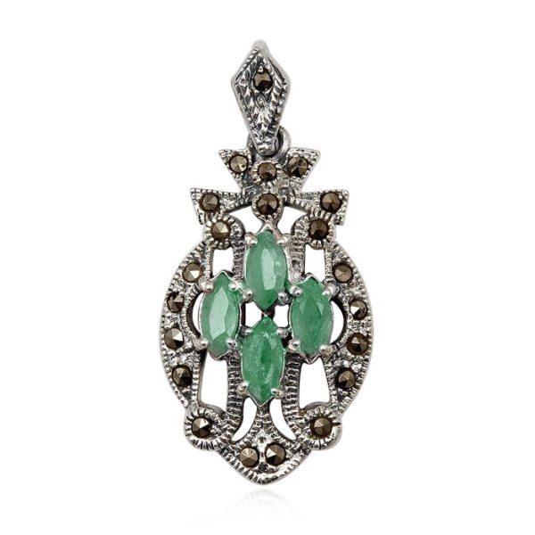 colgante-verde-esmeraldas-plata-marquesitas