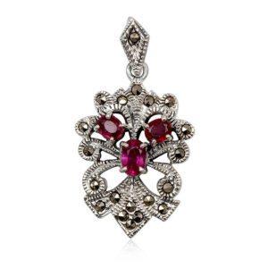 colgante-zafiros-rosa-plata-marquesitas