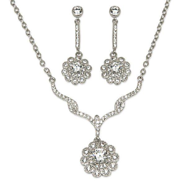 conjunto-circonitas-plata-pendientes-collar-colgante