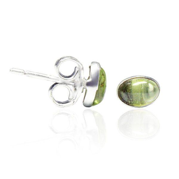 pendiente-palillo-piedra-peridoto-plata