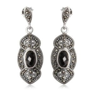 pendientes-plata-marquesitas-negro-zafiro