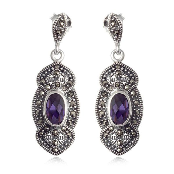 violeta-amatistas-pendientes-plata-marquesitas
